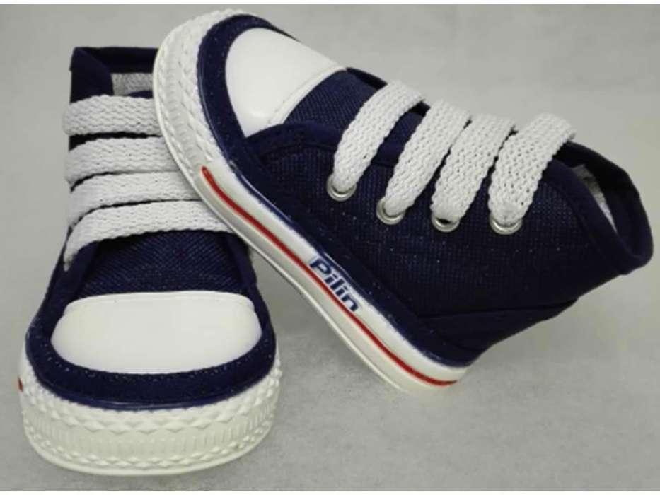Zapatos para Bebés Gateadores Ref. 2010 Azul