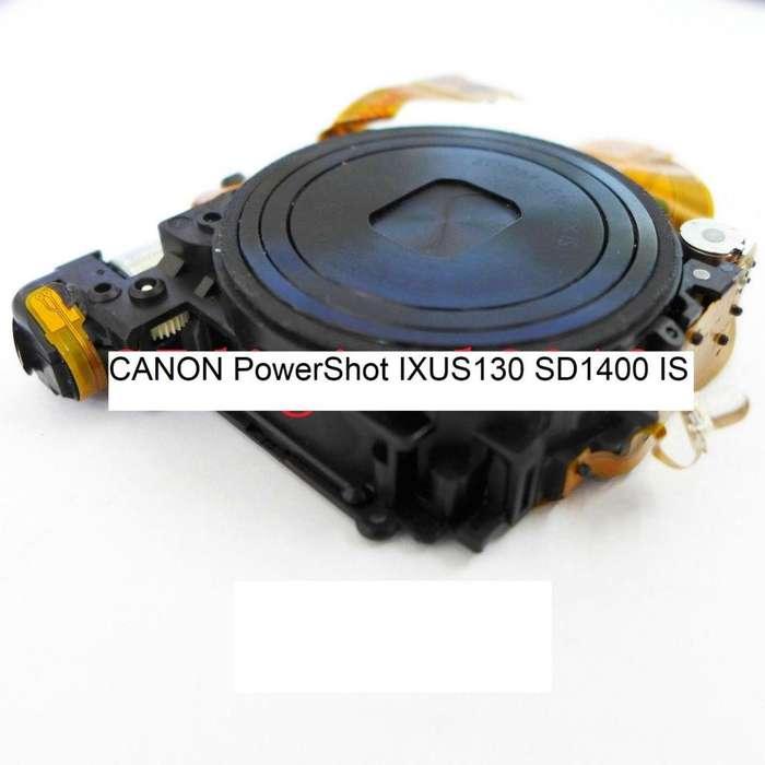 Lente <strong>canon</strong> Powershot Sd1400 Ixus130is