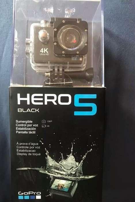 Camara hero 5 black Nueva