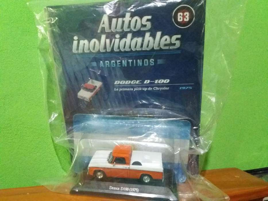 Autos Inolvidables Dodge D-100 Salvat