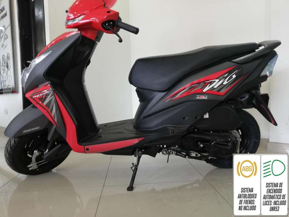 Dio 110 Modelo 2020 Roja