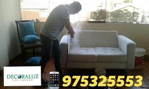 Lavado de alfombras y muebles desde s/.100 no cobramos movilidad cel 975325553 con equipos Karcher