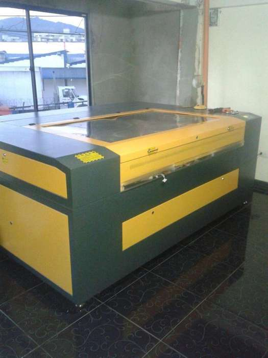 Máquina de corte láser doble cabezal