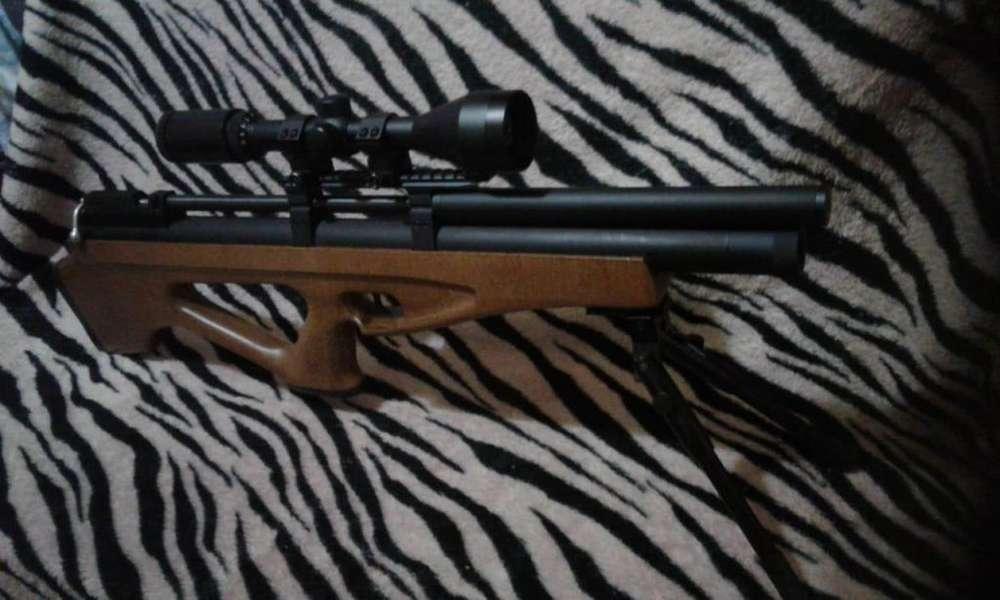 rifle fox pcp bulpup 6,35