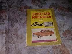 Servicio Mecanico Del Ford V-8,  6 Cilindros Y Ford Baby.