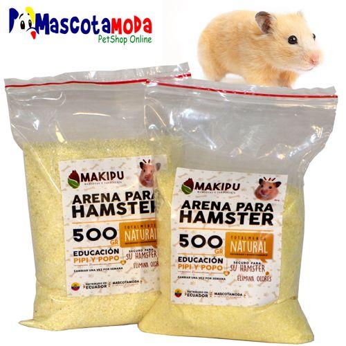 Arena sanitaria de limpieza para hamster nada de olores