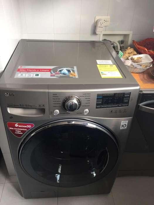 Lavadora- secadora LG. Casi nueva.