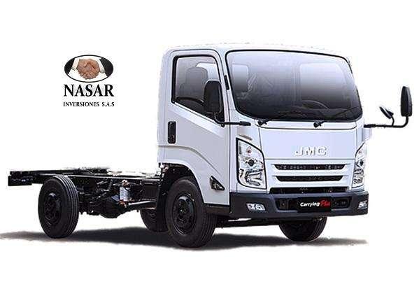 Camion JMC Carying para grua, 0 KM. Y TRABAJO INCLUIDO