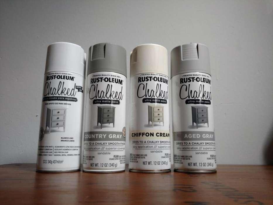 Pintura a la tiza Chalked Ultra MattePaint Aerosol