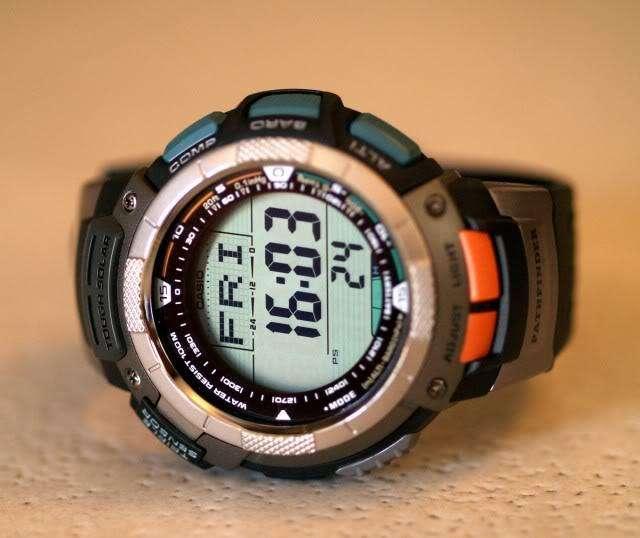 Reloj Casio Sport Pathfinder, Original, Uso Normal, Excelente Estado, 9 de 10...