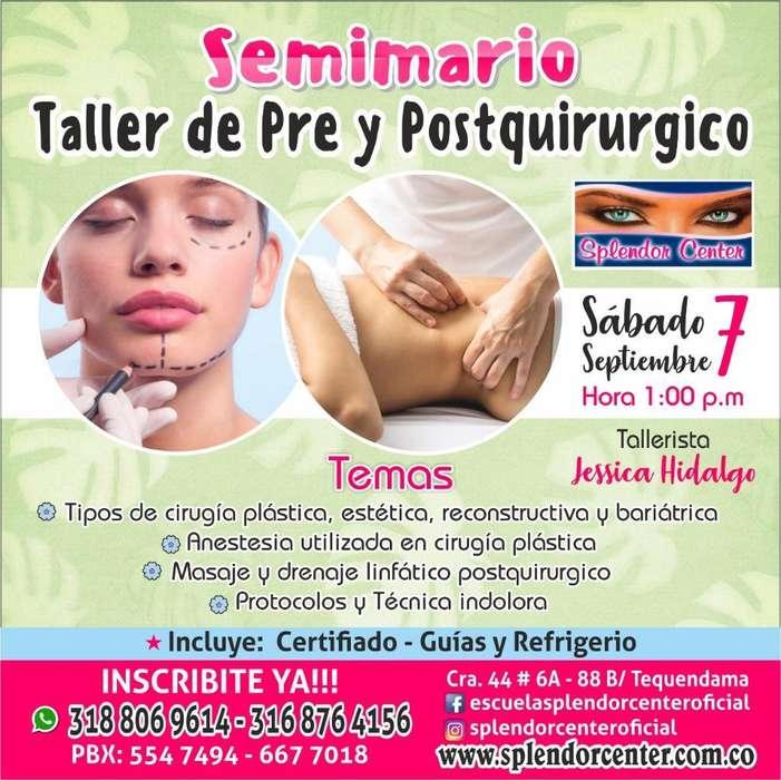 Seminario Taller Pre Y Postquirurgico
