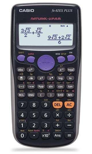 Calculadora Cientifica Casio Fx82es Plus 252 Funciones