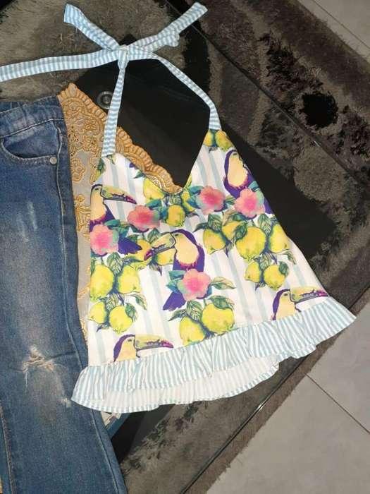 Blusa Tropical Nina 10000