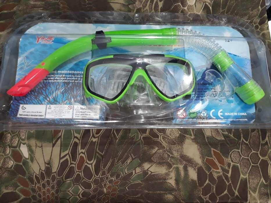 Snorkel Careta de Natación Y Buceo