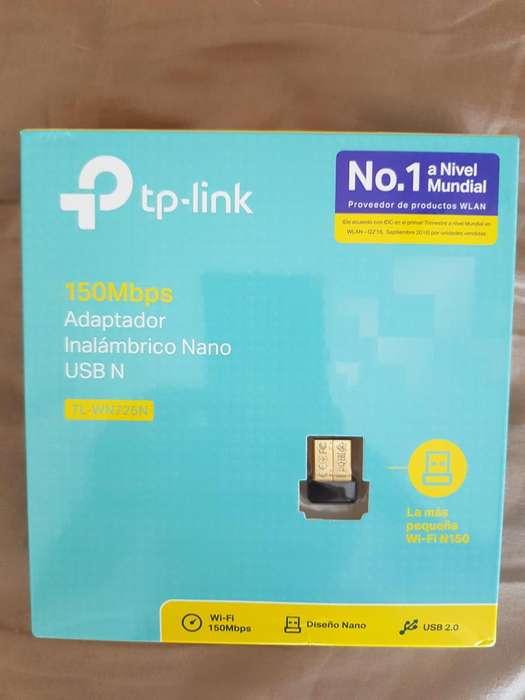ADAPTADOR <strong>wifi</strong> TPLINK 150 MPS, NUEVOS CERRADOS