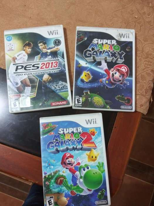 Vendo 3 Juegos de Nintendo Wii