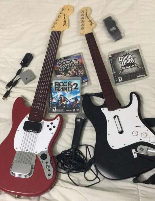 Vendo Guitarras Rock Band