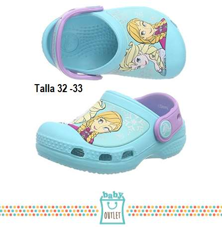 CROCS FROZEN ORIGINALES 31/32