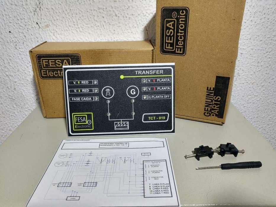 Control de Transferencia Electrica 220 V