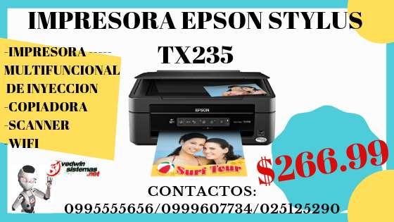 IMPRESORA NUEVA EPSON STYLUS TX235