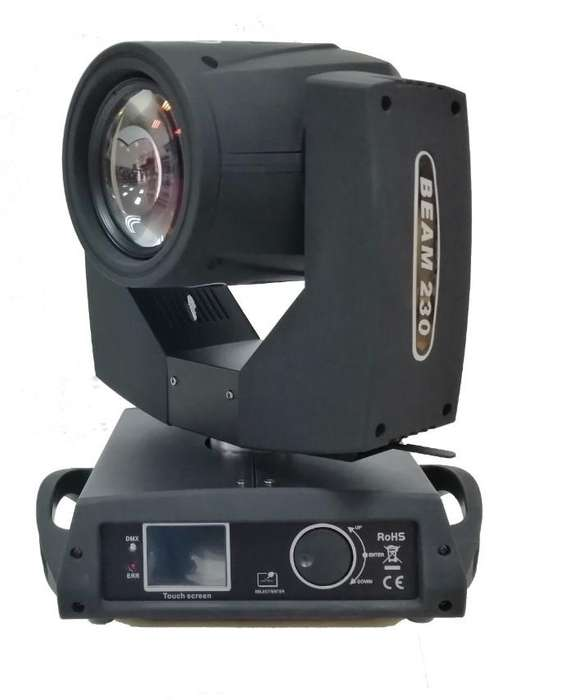 Luz Robotica Beam Spot Gobo 230w Dmx Ip33 Con Pantalla Rgbw