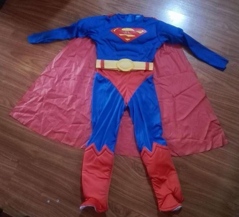 Disfraz Superman talla 8