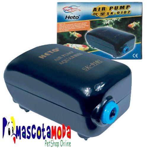 Motor aireador oxigenador para acuarios y peceras