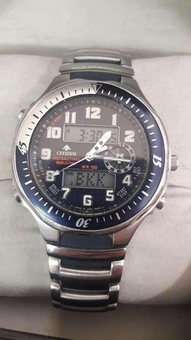 Reloj <strong>citizen</strong> Footalltimer Worldtime