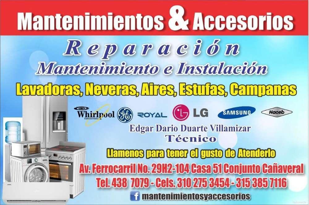 Reparacion Mantenimiento de Aires