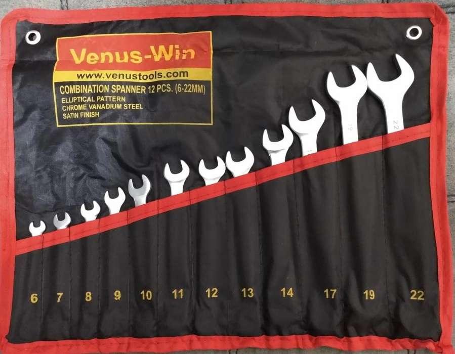Juego Llaves Venus-win. Nueva 12 Pz Mm 6-12