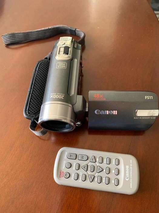 Cámara de video Canon FS11