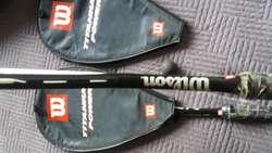 Raquetas squash wilson titanium power