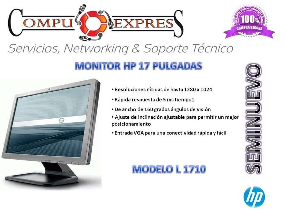 <strong>monitor</strong> Hp 17 Pulgadas Seminuevo