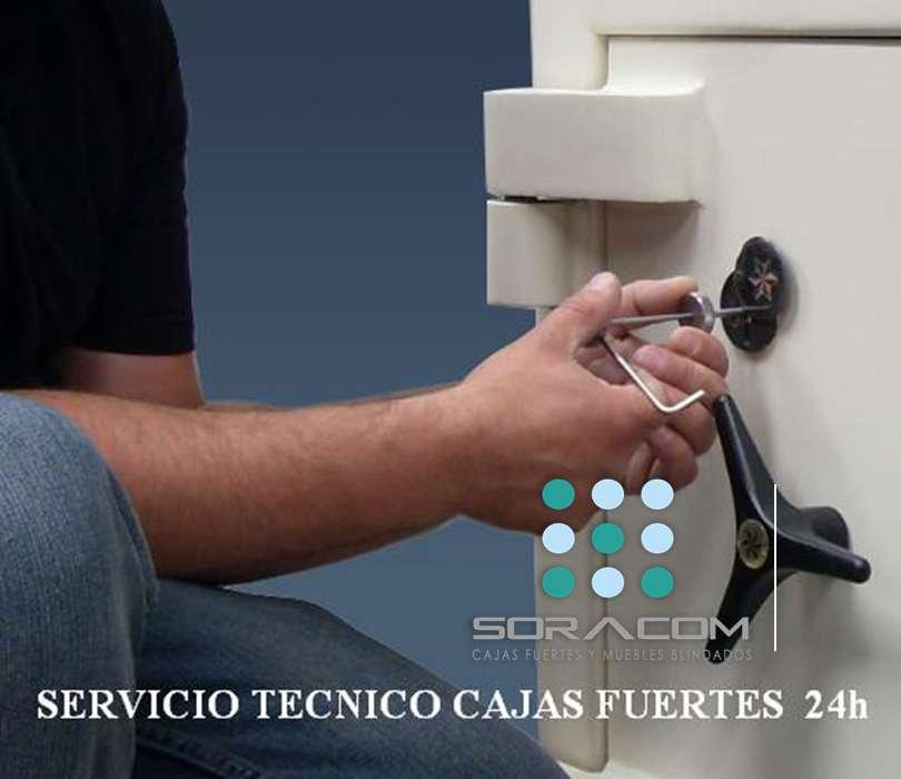 Servicio técnico de cajas fuertes y apertura inmediata