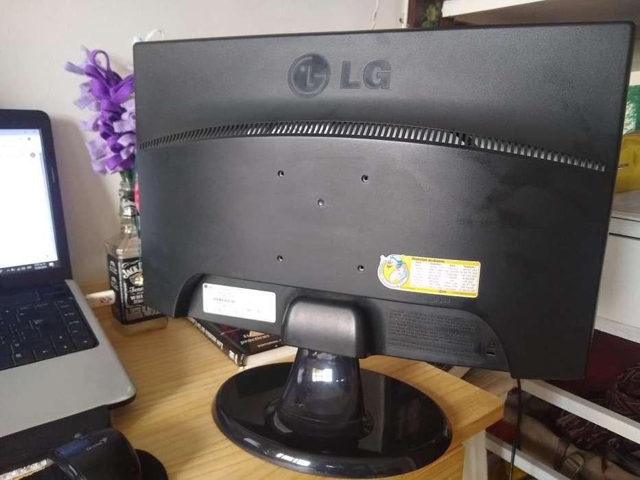 Monitor Lg Flatron 19 Pulgadas con Base