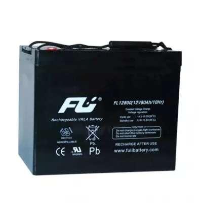 Batería Sellada Fulibattery12v80ah Ref. Fl12800gs