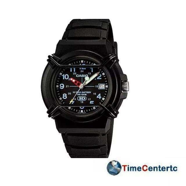 Reloj <strong>casio</strong> Hda600b, 100 Metros Resistente Al Agua, Fecha