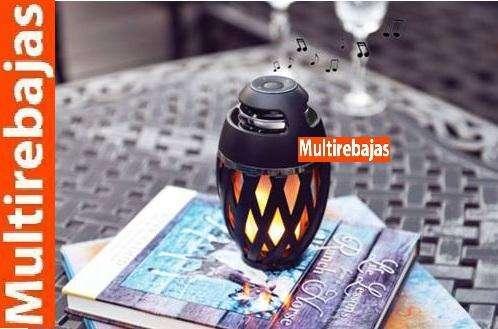 Lámpara Llama Parlante Bluetooth