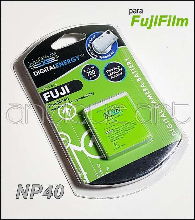 A64 Bateria Np40 Para Fujifilm Fuji Finepix Samsung Ricoh