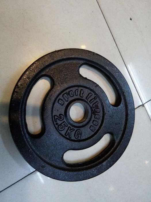 Disco para Pesas 2.5 kg Sport Fitness.