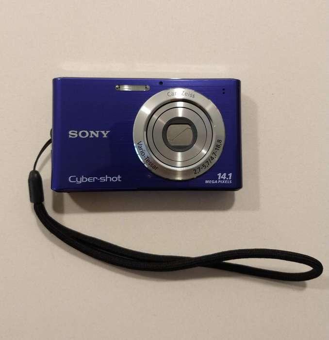 Camara Sony Cybershot DSCW330 estabilización imagen SteadyShot reduce borrosidad automáticamente configuración