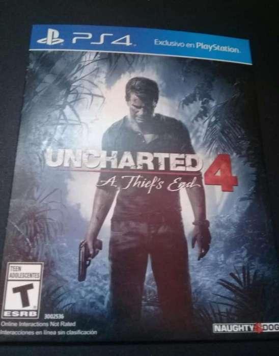 Uncharted 4 Ps4 Vendo O Cambio