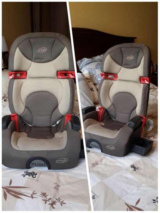Silla Para Bebe De Auto, Evenflo