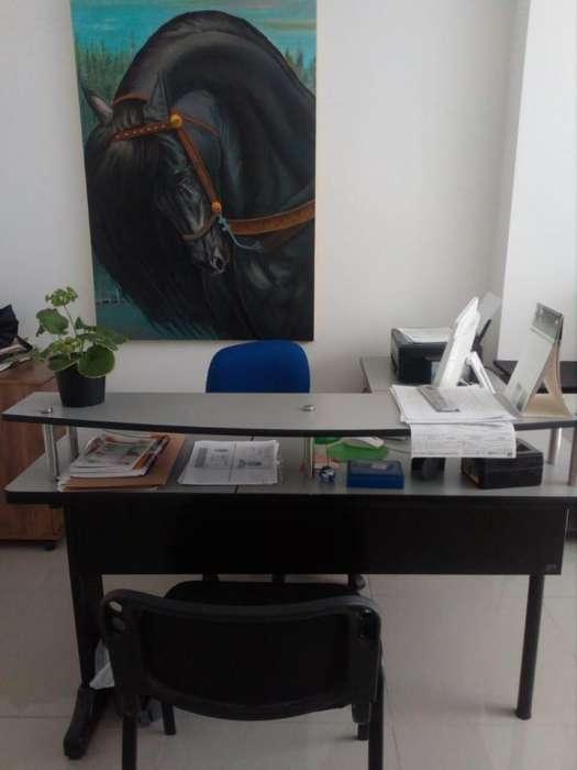 <strong>escritorio</strong> CON ARCHIVADOR y SILLA