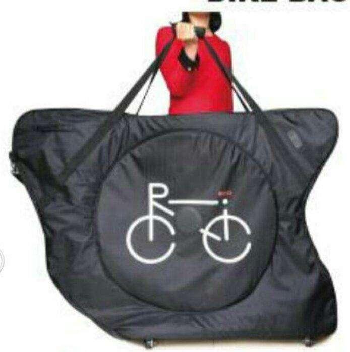 Maleta para bicicletas en lona