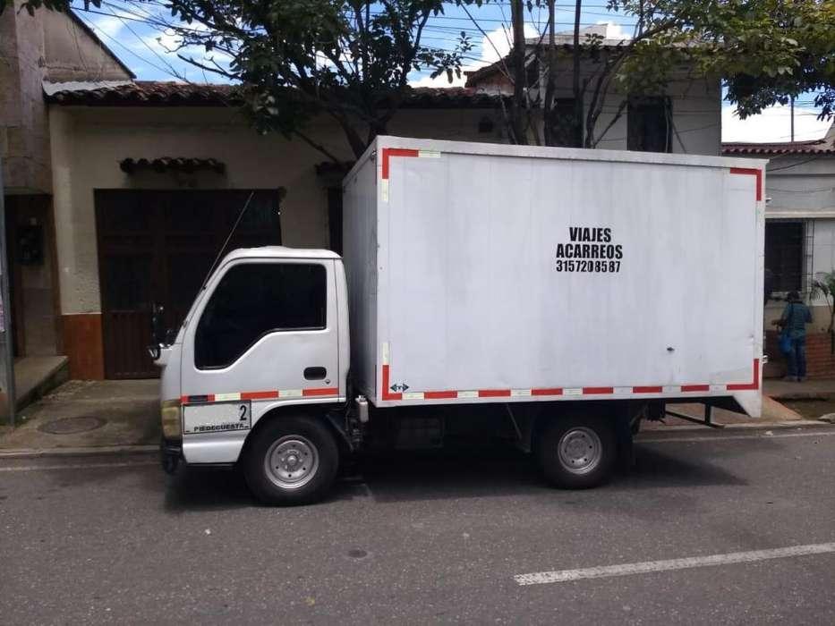 VENDO CAMION CHEVROLET NHR FURGON - Bucaramanga