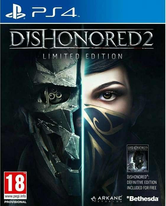 Oferta Dishonored 2 Edicion Limitada Ps4