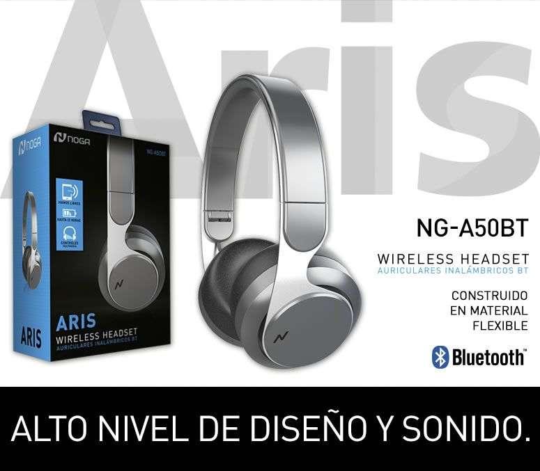 Auriculares Noga <strong>bluetooth</strong> Ng-A50bt Aris