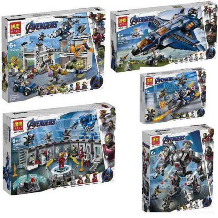 Avenger Endgame Compatibles con Lego