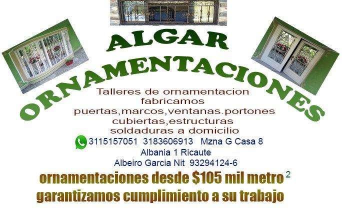 PUERTAS,VENTANAS,MARCOS,ORNAMENTACIONES ALGAR 3115157051